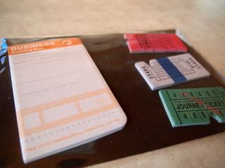 trip tip チケット付箋