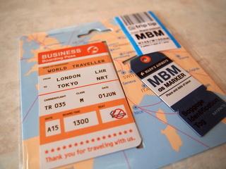 trip tip チケット&タグブックマーク