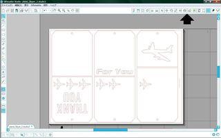 レイヤータグ CAMEOソフトの画面
